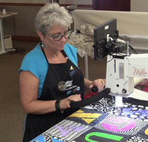 Chris Wenz of Over the Top Quilting Studio