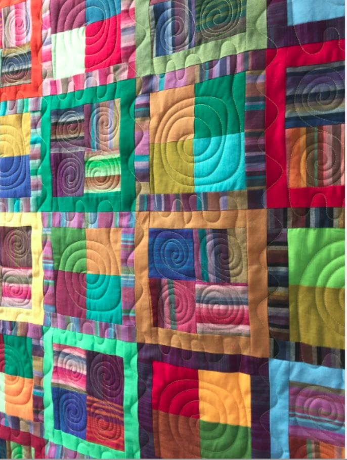 Betsy Made This Kaffe Fassett Quilt Kit Come To Life