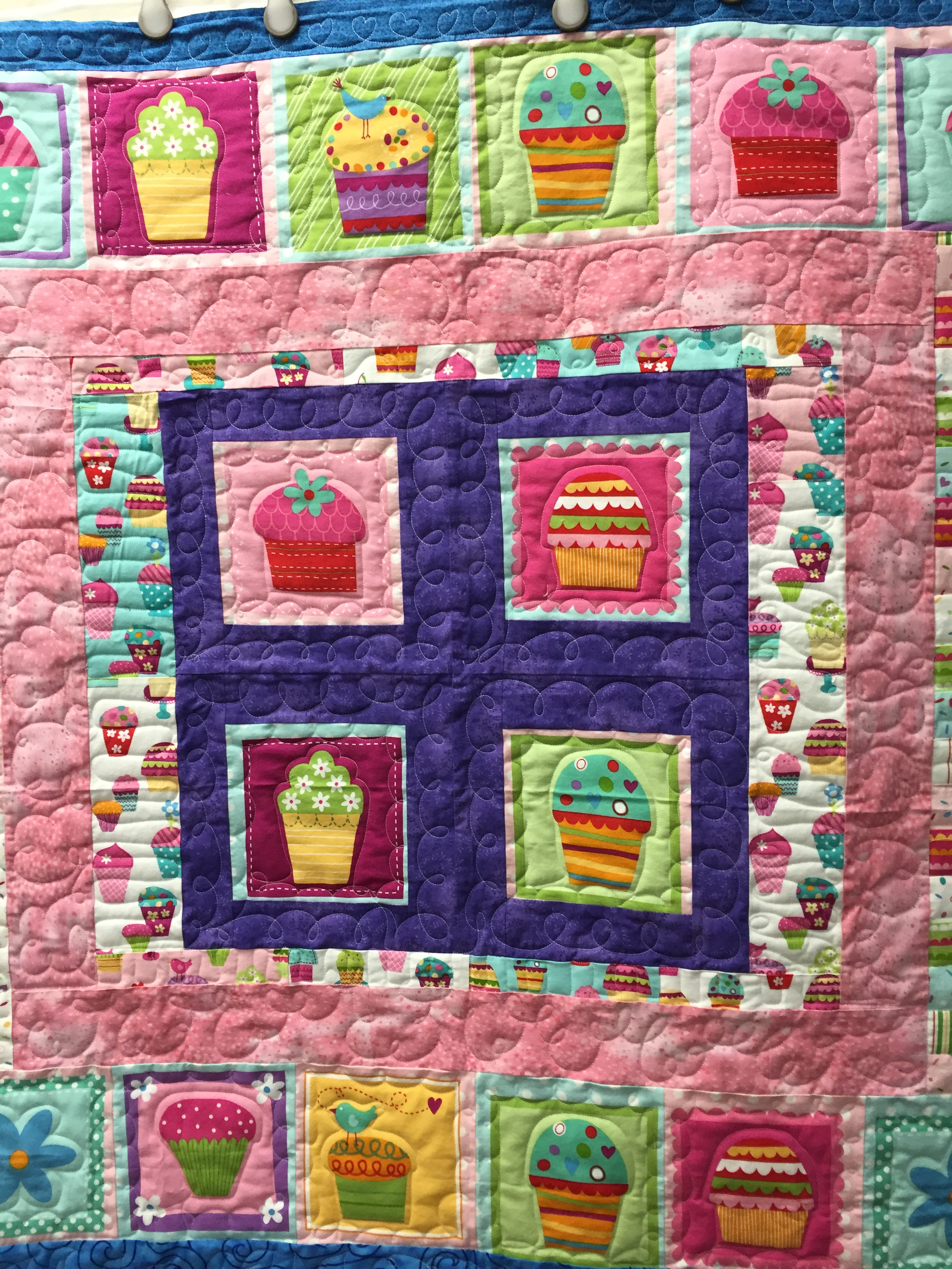 Quilt Made By A Renter At Over The Top Quilting Studio