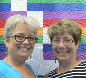 Chris Wenz and Susan Rubino of Over The Top Quilting Studio - 4