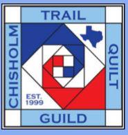 Chisholm Trail Quilt Guild